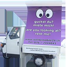 Unsere mobile Werbefläche